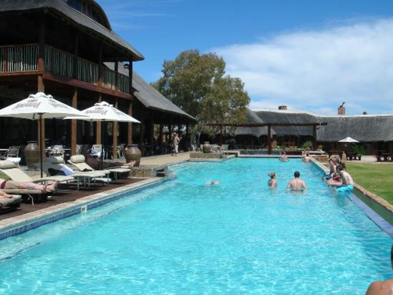 Relax and enjoy the facilities after your Safari