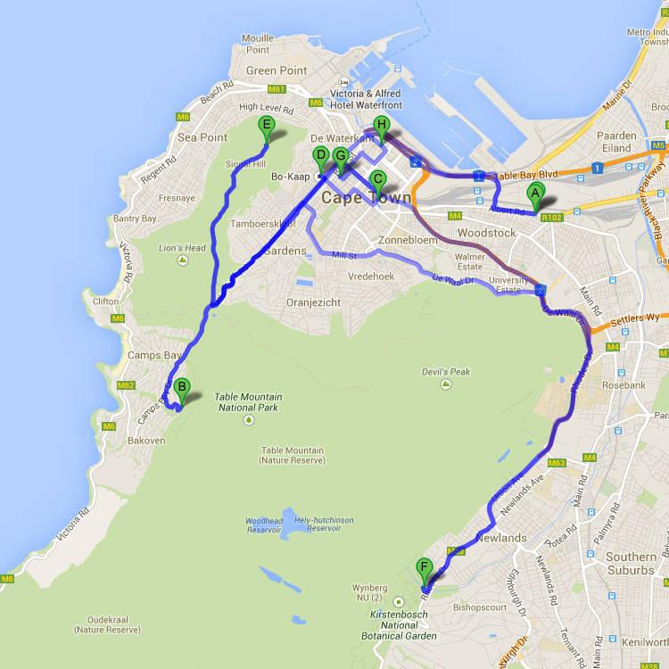 Cape town city table mountain robben island private full - Robben island and table mountain tour ...